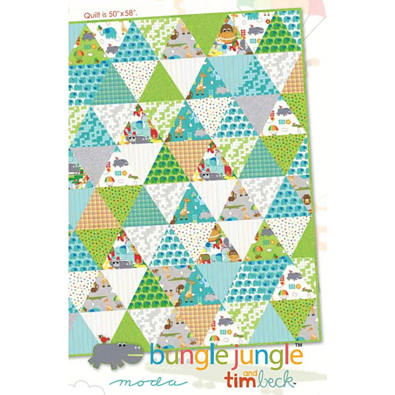 Bungle Jungle Quilt Pattern   Jelly Rolls 2 Go : jungle quilt pattern - Adamdwight.com
