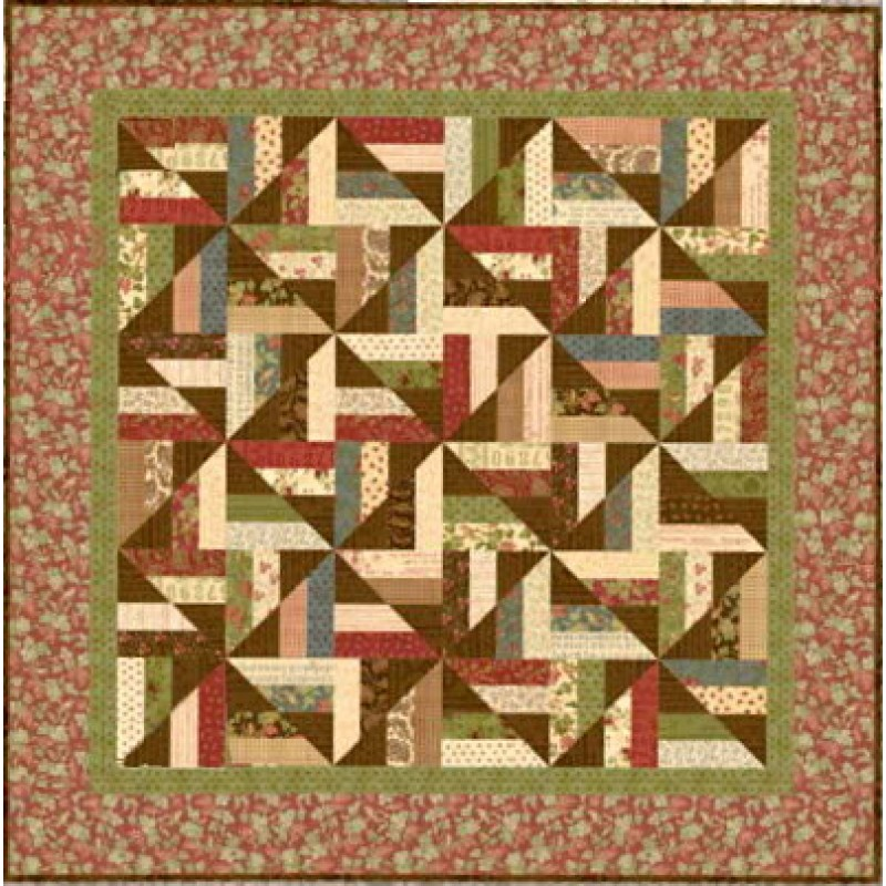 Pinwheel Pirouette Quilt Pattern Jelly Rolls 2 Go