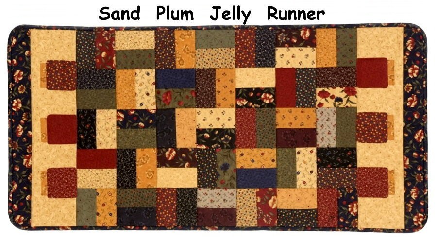 SAND HILL PLUM JELLY JAR QUILT KIT Moda Fabric Pattern KANSAS TROUBLES QUILTERS eBay