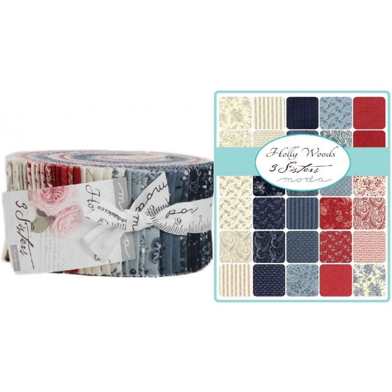 Holly Woods Moda Jelly Roll