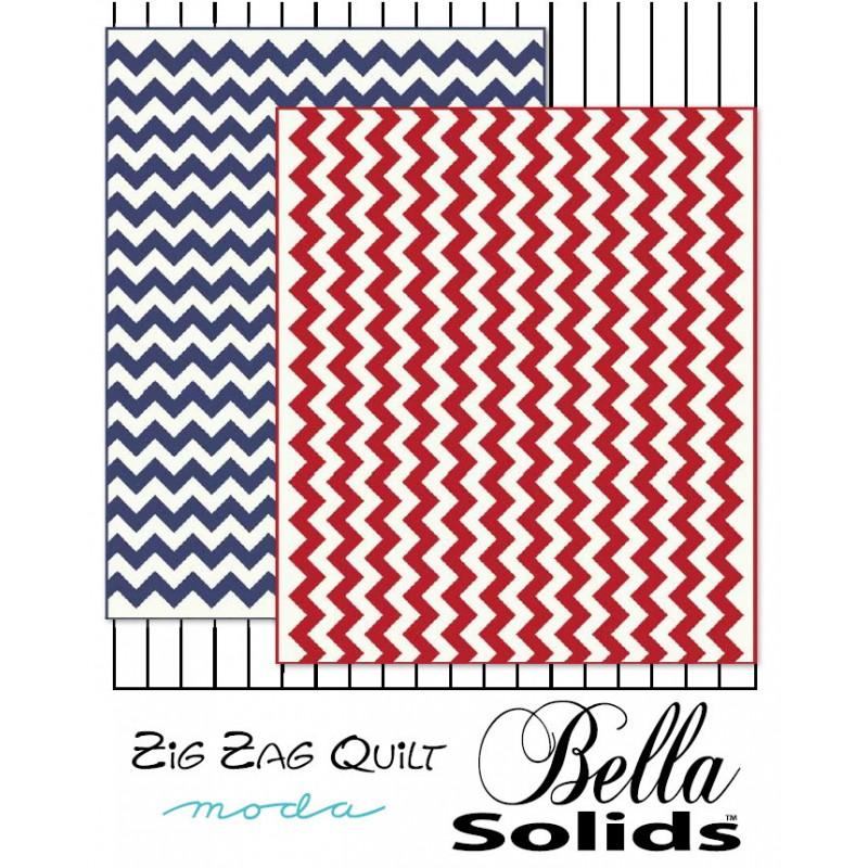 Zig Zag Quilt Pattern Jelly Rolls 2 Go