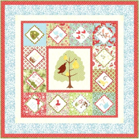 12 Days of Christmas Quilt Kit-0