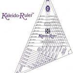 "Kaleido Ruler for Kaleidoscope Blocks 6"" - 16"" Size -0"