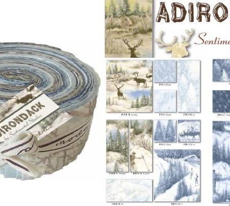 Adirondack Moda Flannel Fabric Roll-0
