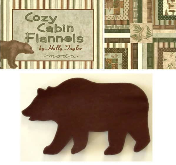 Cozy Cabin Cubs - Bears Applique Set-0