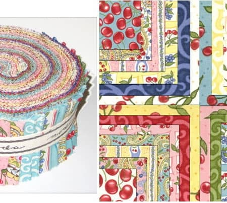 Berry Delicious Moda Jelly Roll-0