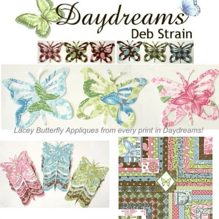Daydreams Butterfly Applique Set-0
