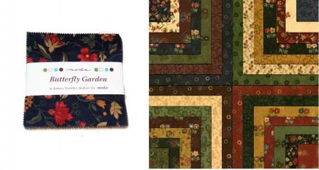"Butterfly Garden 5"" Charm Pack-0"