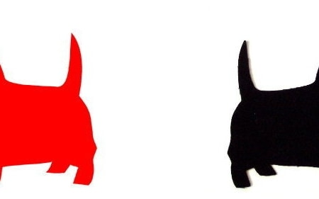 SCOTTIE DOG Template Set - Applique-0