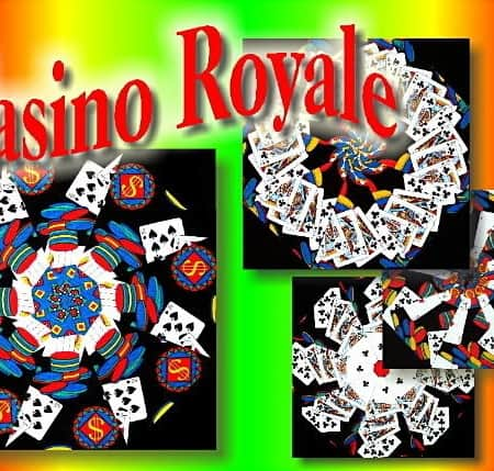 Casino Royale Kaleidoscope Quilt Kit-0