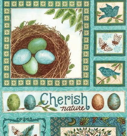 Cherish Nature Fabric Panel-0