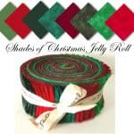 Shades of Christmas Moda Jelly Roll-0