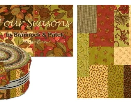 Four Seasons Moda Fabric Roll-0