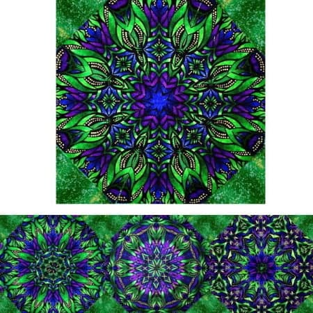 Luminosity #2 Kaleidoscope Quilt Kit-0