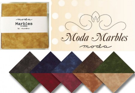 "Moda Marbles - Warm 5"" Charm Pack-0"
