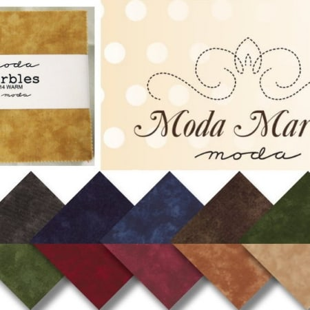 "Moda Marbles - Warm 5"" Charm Pack-0"
