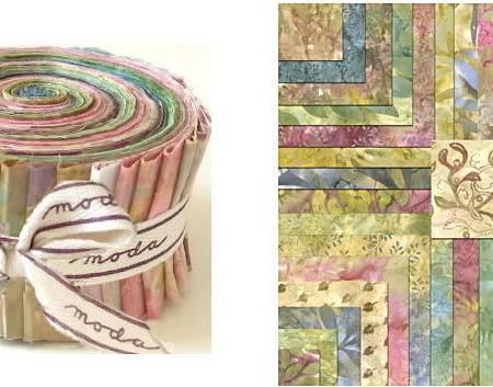 Pathway Batiks Moda Batik Fabric Roll-0