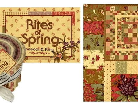 Rites of Spring Moda Fabric Roll-0