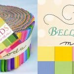 Bella Solids - 30's Moda Jelly Roll-0