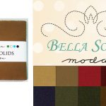 "Moda Bella Solids - Dark 5"" Charm Pack-0"