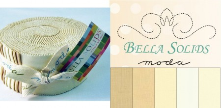 Bella Solids - Neutrals Moda Jelly Roll-0