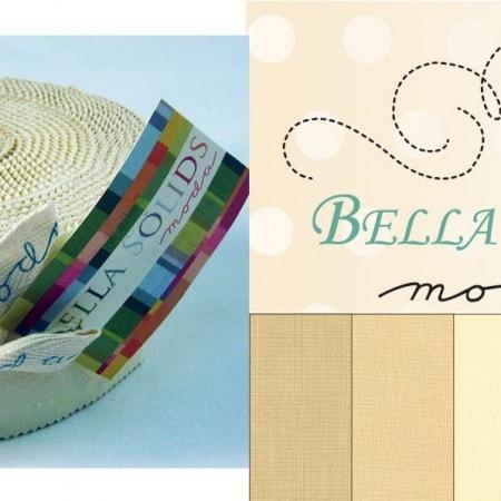 Bella Solids - Neutrals Moda Jelly Roll-0