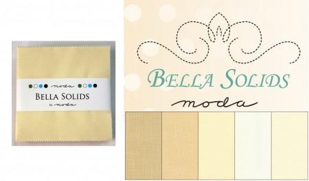 "Moda Bella Solids - Neutrals 5"" Charm Pack-0"