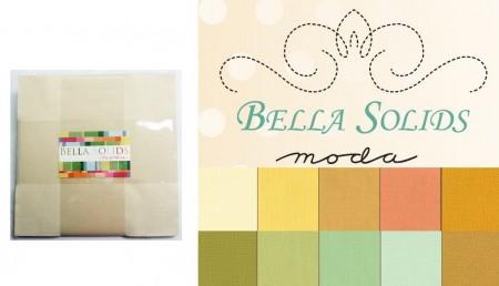 Moda Solids - Warm Layer Cakes-0
