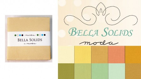 "Moda Bella Solids - Warm 5"" Charm Pack-0"