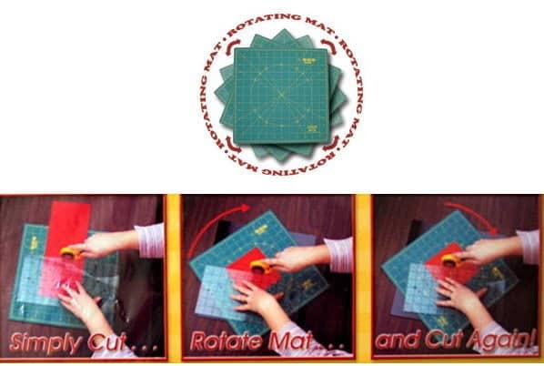 OLFA Spinning Rotary Cutting Mat-0