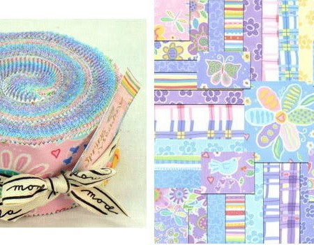 Spring Meadow Moda Fabric Roll-0