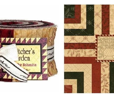 A Stitcher's Garden Moda Jelly Roll-0