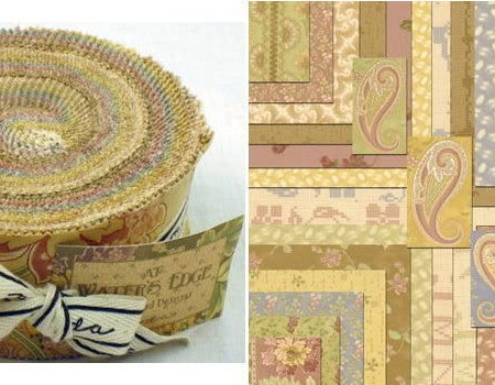At Water's Edge Moda Fabric Roll-0