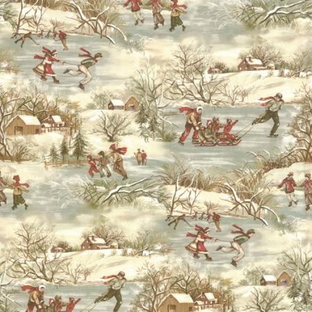 Winter At Walden Pond -0