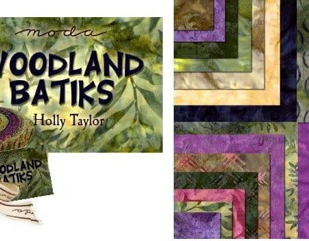 Woodland Batiks Moda Batik Fabric Roll-0