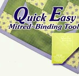 Quick Easy MITRED BINDING TOOL-0