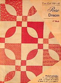 Rose Dream Quilt Block.Rose Dream 6 Block Template Set