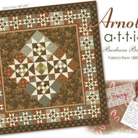 Arnold's Attic Quilt Kit-0