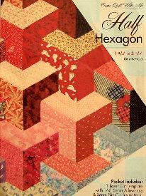 HALF HEXAGON Block TEMPLATE SET-0