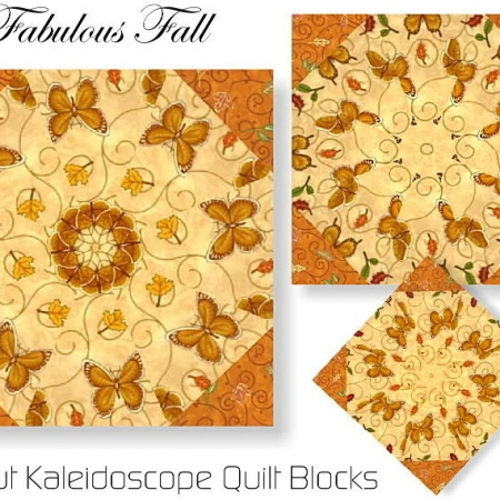 Fabulous Fall Kaleidoscope Quilt Kit-0