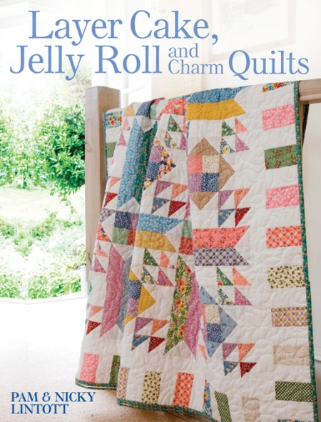 LAYER CAKE, JELLY ROLL and CHARM QUILTS BOOK-0