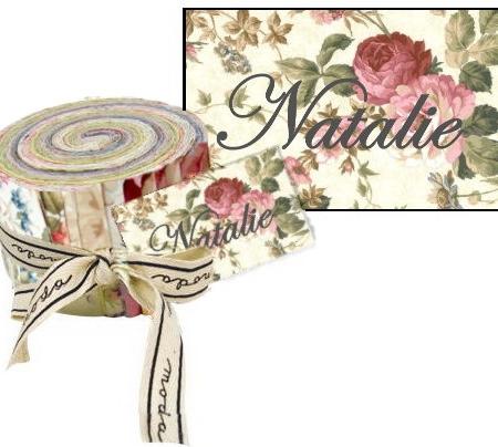 Natalie Moda Fabric Roll-0