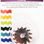 Simplicity Rotary Cutting Machine Blade - Pinking-0