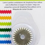 Simplicity Rotary Cutting Machine Blade - Small Wave-0