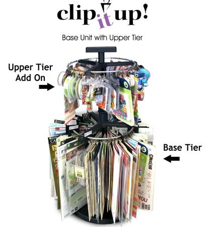 Clip It Up - Base Unit's Upper Tier Add On-0