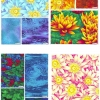"""Water Lilies 5"""" Charm Pack-2967"""