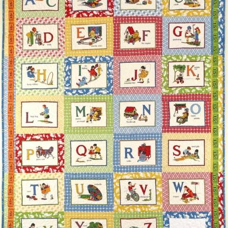ABC's Quilt Kit-0