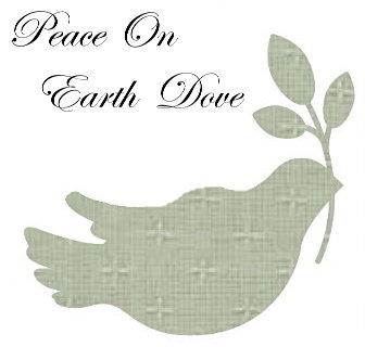 Peace Dove - Applique - 3 Sets-0
