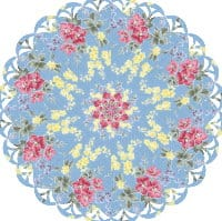 Laura's London Lawns Kaleidoscope Quilt Kit-0