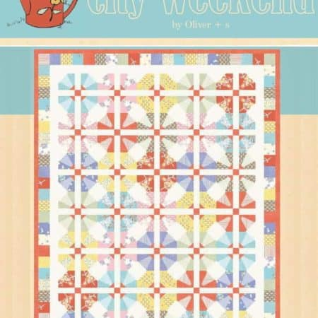 City Weekend Quilt Pattern-0